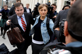 En libertad bajo fianza la actriz Allison Mack, vinculada a una secta y que intentó reclutar a Emma Watson