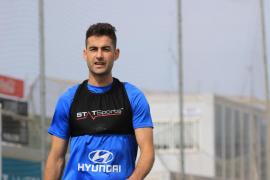 Sergio Sánchez espera con «ganas» el partido ante el Alcoyano