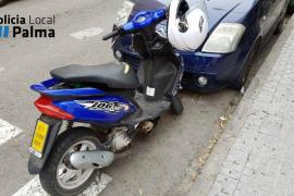Detenido un joven buscado por la Policía tras sufrir un accidente de tráfico en Palma