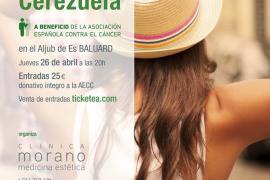 Anglada y Cerezuela cantan a beneficio de la AECC en Es Baluard