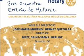 La Jove Orquestra Rotària de Mallorca ofrece un concierto en el Conservatorio de Palma