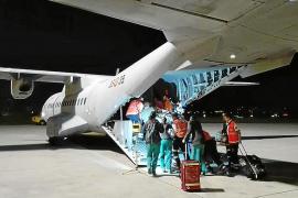 La reacción de los médicos que atendieron al bebé trasladado crítico a Madrid