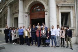 Jueces y fiscales se concentran en Baleares para pedir la independencia judicial y la mejora de condiciones laborales