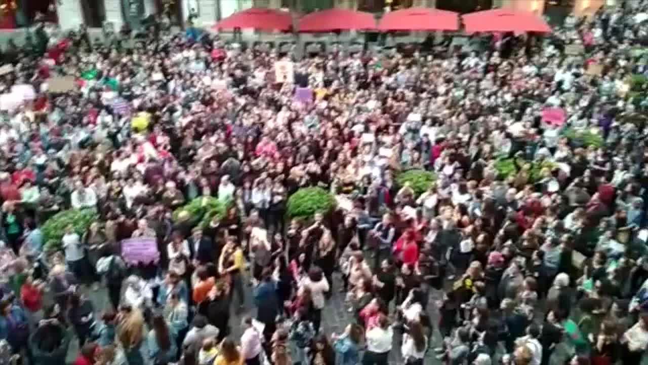 Mallorca se suma a las protestas contra la sentencia a 'La Manada'