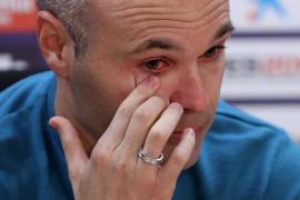 Iniesta confirma que deja el Barcelona