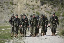 Parte del regimiento Palma 47 se embarca para recibir adiestramiento en Chinchilla
