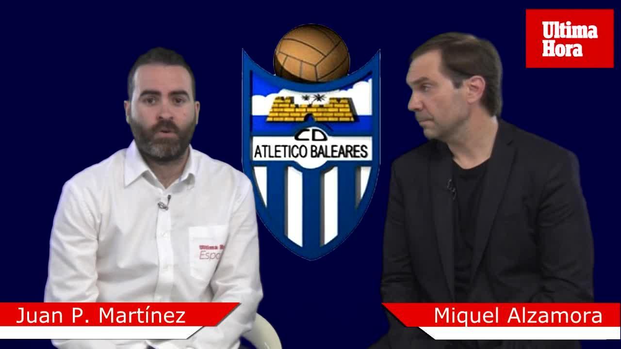 Juan P. Martínez: «El Atlético Baleares debe demostrar que se juega más que el Alcoyano»