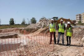 Finalizadas las obras de limpieza en el solar de la antigua fábrica de Majorica en Manacor