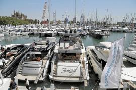 La demanda de amarres en el puerto de Palma se dispara
