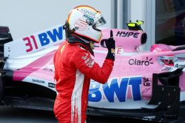 Vettel saldrá desde la 'pole' en Bakú, Sainz desde el puesto 9 y Alonso desde el 13