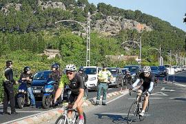 Retenciones en algunas carreteras por la Mallorca 312