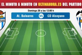 Atlético Baleares-Alcoyano, en directo