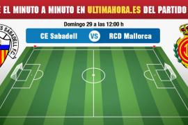 Sabadell-Real Mallorca, en directo