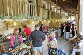 La feria de Lluc exhibe los mejores productos de la Serra de Tramuntana
