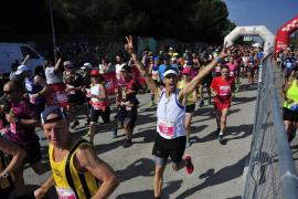 Mohamed Bouccetta y Gemma Llabrés vencedores de la Sol Half Marathon Magaluf 2018