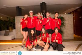 Baleares, subcampeona de España de Piragüismo de Jóvenes Promesas