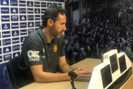 Vicente Moreno, decepcionado: «No hemos merecido ni empatar»