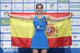 Carolina Marín consigue su cuarto europeo y se convierte en leyenda