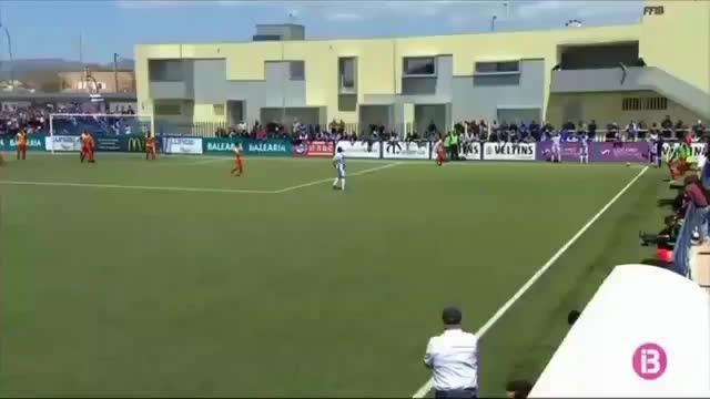 Así ha sido el gol olímpico de Xisco Hernández