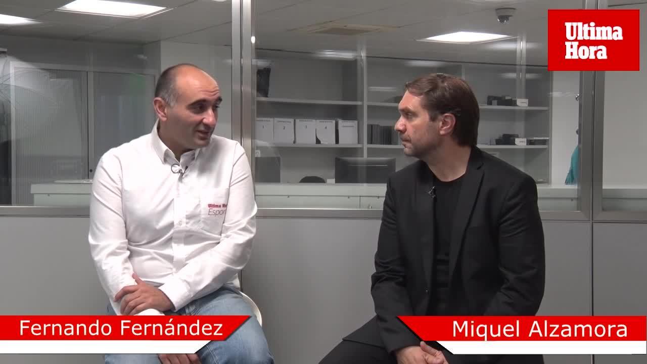 Fernando Fernández: «El Iberostar Palma respondió en una situación límite»