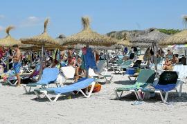 Es Trenc tendrá hasta 600 hamacas menos que otros veranos