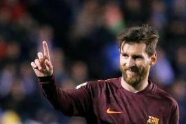 El Barcelona, campeón de Liga de la mano de un Messi estelar