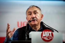 Pepe Álvarez, secretario general de UGT: «No hemos perdido el pulso de la calle»