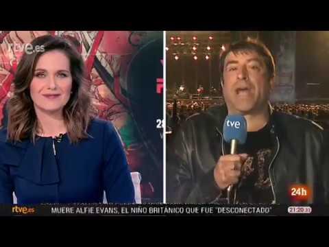 Una crónica de televisión desde el Viña Rock se hace viral