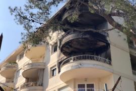 Una decena de afectados por el incendio del sábado en Illetas podrán volver a sus casas el miércoles