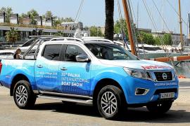 El Nissan Navara, protagonista de la feria náutica de Palma