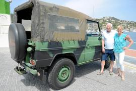 Un vehículo de batalla
