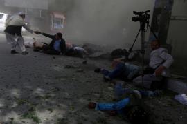 Nueve periodistas mueren en una masacre de civiles cometida por terroristas en Kabul