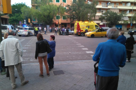 Accidente con un herido leve en Son Oliva
