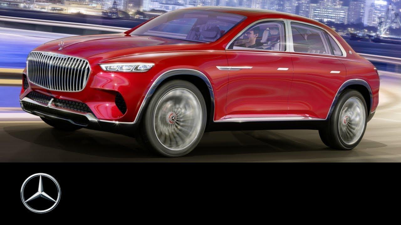Estreno en el Salón de Pekín del Vision Mercedes-Maybach Ultimate Luxury