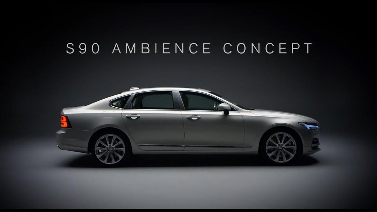 S90 Ambience Concept o la conexión con los sentidos