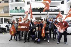 Manifestación del 1º de Mayo en Ibiza