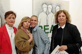 Maria Ramis, Marga Ramis, Pilar Moragues y Pepi de Búger.