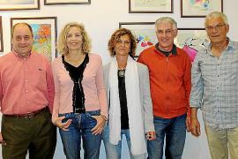 Glòria Argany en la Fundación Coll Bardolet