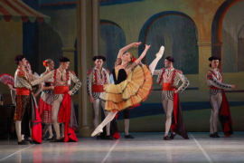 El Ballet de Moscú baila 'Don Quijote' en el Auditórium de Palma