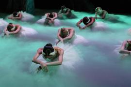 'El lago de los cisnes', interpretado por el Ballet de Moscú, en el Auditórium de Palma