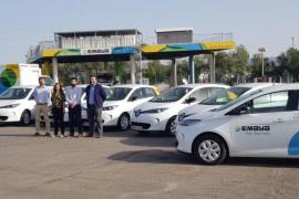 Emaya estrena siete nuevos vehículos eléctricos