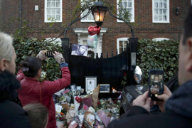 La familia de George Michael pide retirar los tributos frente a sus viviendas