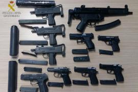 La Guardia Civil de Menorca ayuda a detener a una banda internacional de narcos