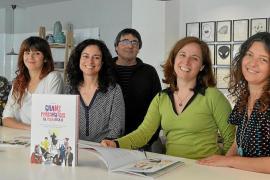Personalidades ilustres de Mallorca, en clave ilustrada y con 'tinta' de mujer