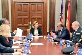 El director general de la Policía asegura que se incrementará la plantilla en Baleares