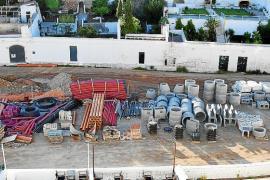 Obras en Es Pla de Sant Joan de Ciutadella