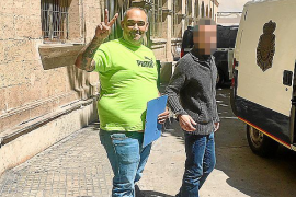 'El Ico' acepta un año de cárcel por amenazar a su sobrina con una catana en Son Banya