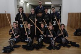 Los samuráis del Kendo
