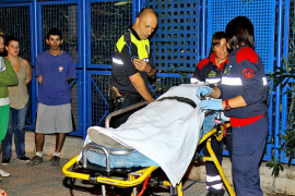Hospitalizada una menor tras sufrir una caída en un instituto de Palma en el que se había colado