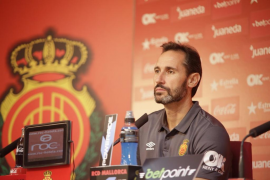 Vicente Moreno, con ganas de «darle una alegría a la afición»